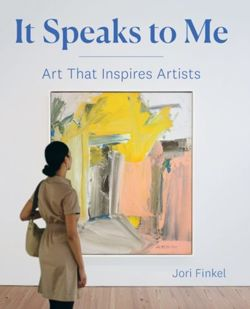 It Speaks to Me: Art that Inspires Artists