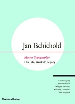 Jan Tschichold: Master Typographer -His Life, Work and Legacy