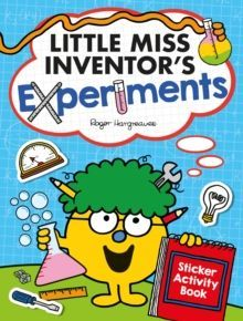 Little Miss Inventor's Experiments : Sticker Activity Book