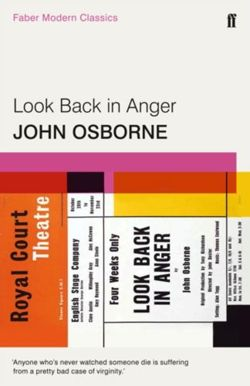 Look Back in Anger Faber Modern Classics