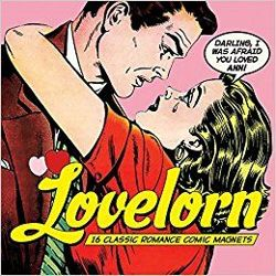 Lovelorn : 16 Classic Romance Comic Magnets