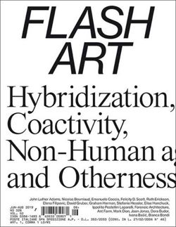Magazyn Flash Art Vol. 51 Issue 321 June – August 2018