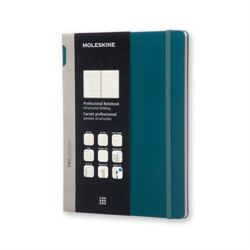 Moleskine Extra Large Tide Green Professional Hard Notebook