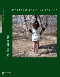 Performance Research 22/04 June 2017