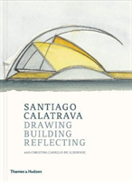 Santiago Calatrava Drawing, Building, Reflecting