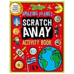 Scratch Away Activity Book Amazing Planet