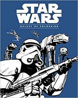 Star Wars Galaxy Colouring Book