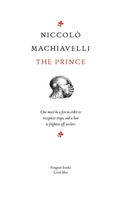 The Prince (Penguin Great Ideas)