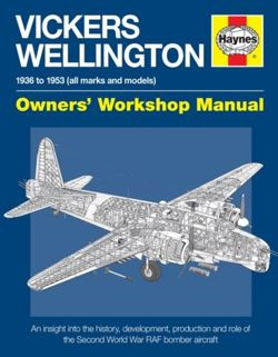 Vickers Wellington Manual : An insight into the history, development, production and role of the Second World War RAF bomber aircraft