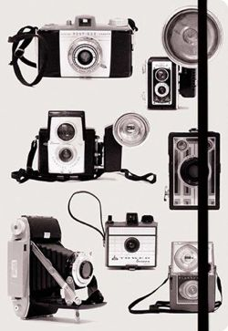Vintage Cameras Essential Everyday Journal
