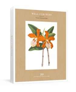 Wall of Orchids : 20 Rare Botanical Prints to Frame