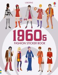 1960s Fashion Sticker Book