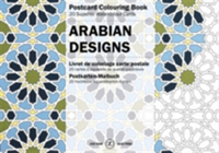 Arabian Designs Postcard Colouring Book