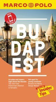 Budapest Marco Polo Pocket Travel Guide 2019 - with pull out map