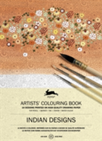 Indian Designs Artists' Colouring Book