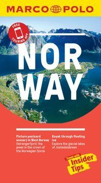 Norway Marco Polo Pocket Travel Guide 2019 - with pull out map