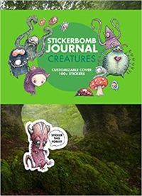 Stickerbomb Journal: Creatures