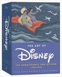 The Art of Disney 2015 Postcard Box The Renaissance and Beyond (1989-2014)