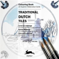Traditional Dutch Tiles Colouring Card Book