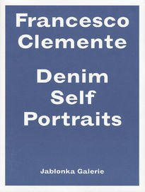 Francesco Clemente – Denim Self Portraits
