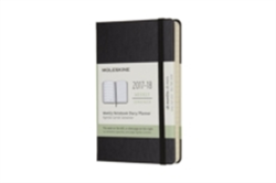2018 Moleskine Pocket Weekly Notebook Diary 18 Months Hard