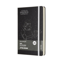 2018 Moleskine Star Wars Limited Edition Stormtrooper Large Daily Diary 12 Months Hard