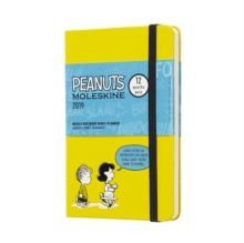 2019 Moleskine Peanuts Limited Edition Notebook Yellow Pocket Weekly 12-month Diary