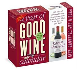 2019 a Year of Good Wine Page-A-Day Calendar