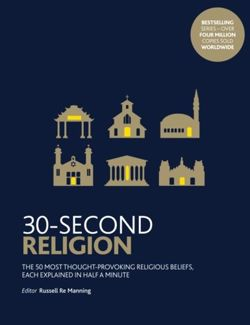 30-Second Religion