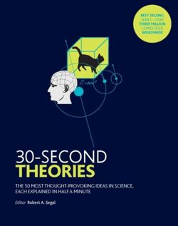 30-Second Theories : The 50 Most Thought-provoking Theories in Science