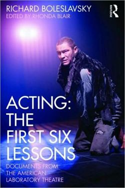 Acting The First Six Lessons