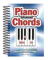 Advanced Piano Chords Easy to Use, Easy to Carry, One Chord on Every Page