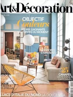 Art & Décoration No 531 Avril 2018