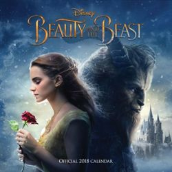 Beauty and The Beast Official 2018 Calendar