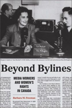 Beyond Bylines Media Workers and Womens Rights in Canada