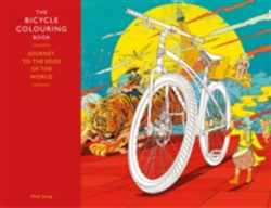 Bicycle Colouring Book Journey to the Edge of the World