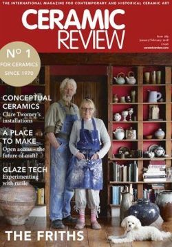 Ceramic Review issue 289 January/February 2018