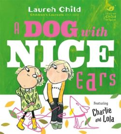 Charlie and Lola: A Dog With Nice Ears