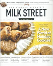 Christopher Kimball's Milk Street Magazine, Nov/Dec 2017