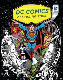 DC Comics Colouring Book