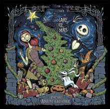 Disney Tim Burton's The Nightmare Before Christmas Pop-Up Book and Advent Calendar