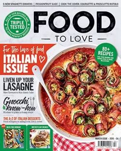 Food to Love Magazine March 2019