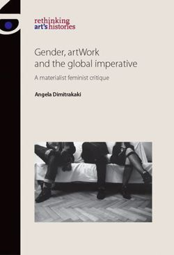 Gender, Artwork and the Global Imperative: A Materialist Feminist Critique