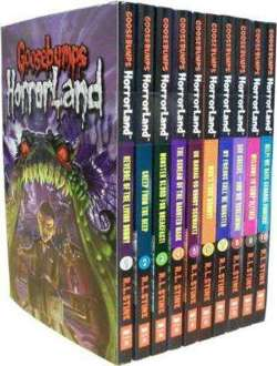 Goosebumps Horrorland 10 book set
