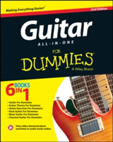 Guitar All-In-One for Dummies Book + Online Video & Audio Instruction, 2nd Edition
