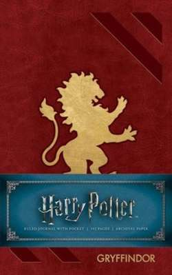 Harry Potter: Gryffindor Ruled Pocket Journal
