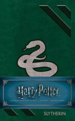 Harry Potter: Slytherin Ruled Pocket Journal