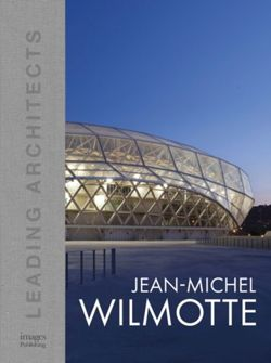 Jean-Michel Wilmotte : Leading Architects