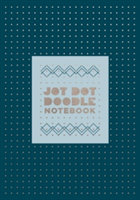 Jot Dot Doodle Notebook (Blue and Silver)
