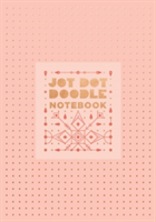 Jot Dot Doodle Notebook (Pink and Rose Gold)